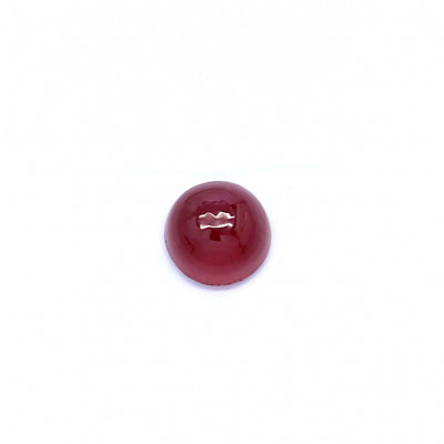 0.31克拉深色VI1圆形格陵兰岛红宝石