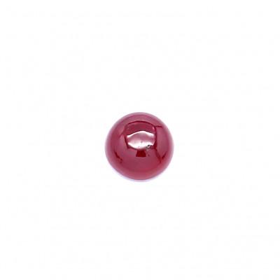 0.46克拉深色VI2圆形格陵兰岛红宝石