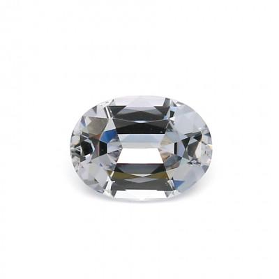 1.06克拉浅色EC1椭圆形英国尖晶石