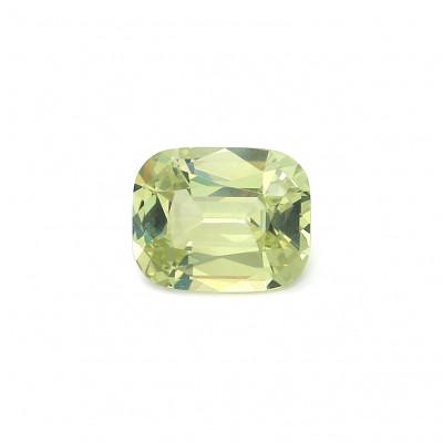 2.24克拉中亮色EC1垫形英国金绿宝石