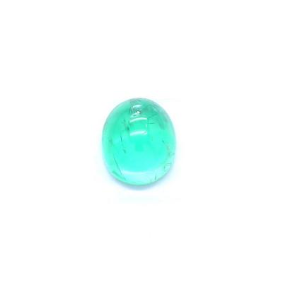 0.58克拉中亮色VI2椭圆形俄罗斯祖母绿