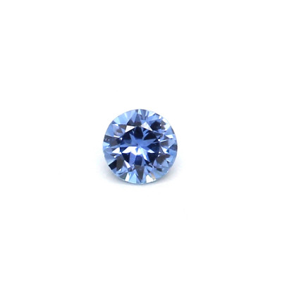 0.09克拉中亮色EC1圆形马达加斯加蓝宝石