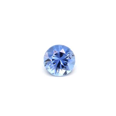 0.11克拉中亮色EC2圆形马达加斯加蓝宝石