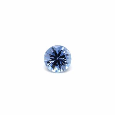 0.11克拉浅色EC1圆形马达加斯加蓝宝石