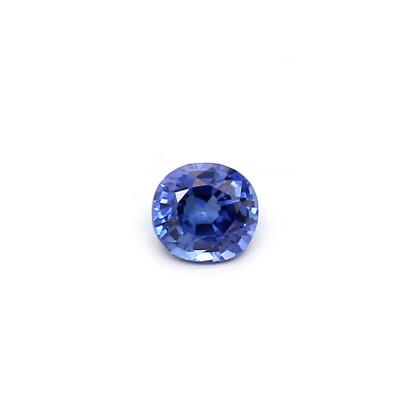 0.20克拉中亮色EC2椭圆形斯里兰卡蓝宝石