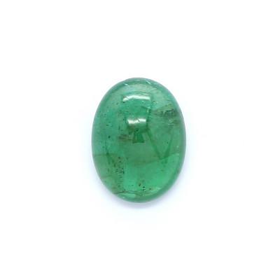 1.13克拉中亮色I1椭圆形赞比亚祖母绿