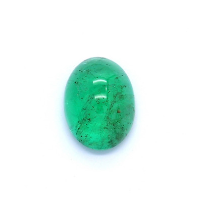 1.33克拉中亮色VI2椭圆形赞比亚祖母绿