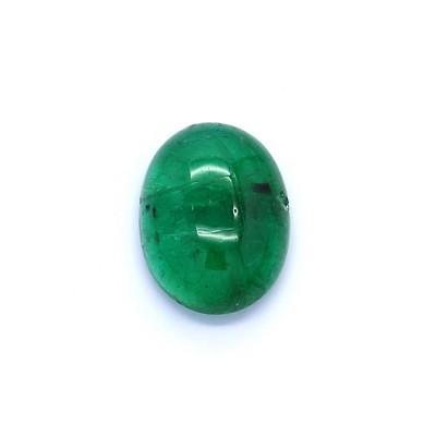 1.07克拉亮色I1椭圆形赞比亚祖母绿