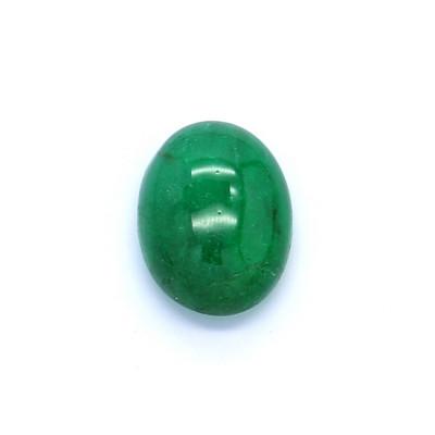 1.23克拉亮色I1椭圆形赞比亚祖母绿
