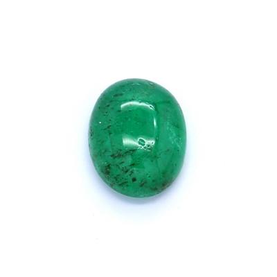 1.06克拉亮色I1椭圆形赞比亚祖母绿