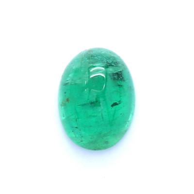 1.21克拉亮色I1椭圆形赞比亚祖母绿